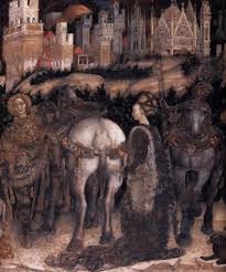 San Giorgio e la principessa di Pisanello