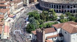 Verona partenza wings for life world run